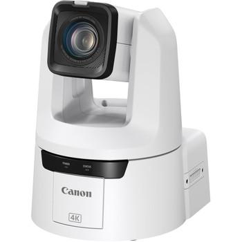 Canon CR-N500 Professional 4K NDI PTZ Camera with 15x Zoom (Titanium White)(4839C002)
