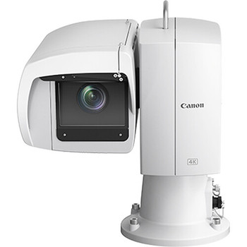 Canon CR-X500 Outdoor 4K PTZ Camera with 15x Optical Zoom (White)(5424C002)
