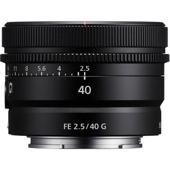 Sony SEL40F25G FE 40mm f/2.5 G Lens