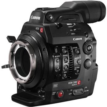 Canon Cinema EOS C300 Mark II Camcorder Body (PL Lens Mount) (1131C002)