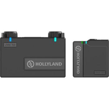 Hollyland LARK 150 Solo Wireless Microphone System (2.4 GHz, Black)