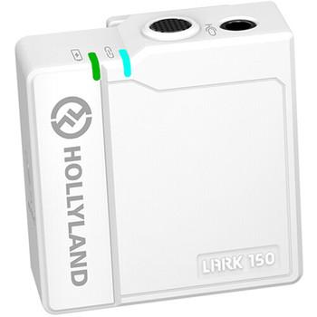 Hollyland LARK 150 Clip-On Wireless Microphone Transmitter (2.4 GHz, White)