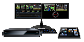 NewTek 3Play 3P2 Instant Replay 10-Channel System