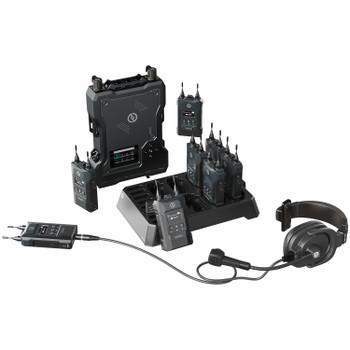 Hollyland Solidcom M1 - Full-Duplex Wireless Intercom System with 8 Belt Packs, All-Round Upgrade Pro Gear in Simpler Form