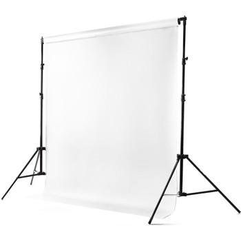 Savage 62037-0512 Port-a-Stand and Vinyl Background Kit (Pure White)