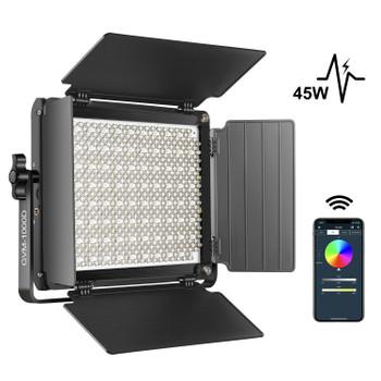 GVM 1000D RGB LED Studio Video Light Bi-Color Soft Light Panel