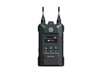 Hollyland M1 Full Duplex Wireless Intercom System with 4 Belt Packs