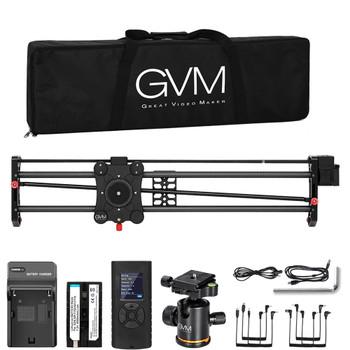 "GVM GP-80QD Professional Video Carbon Fiber Motorized Camera Slider (32"")"