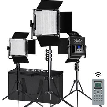 GVM GVM-896S3L 896S Bi-Color LED 3-Panel Kit