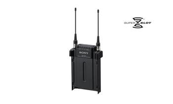 Sony DWR-S03D DWX Gen3 2-channel digital wireless slot-in receiver