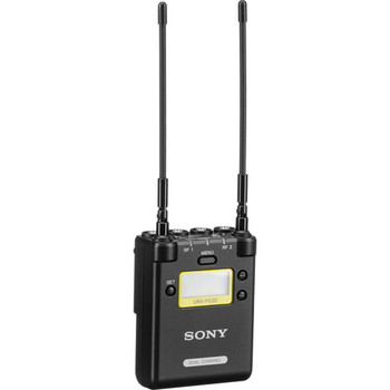 Sony URX-P03D Dual-Channel Camera-Mount Wireless Receiver (UC25: 536 to 608 MHz)