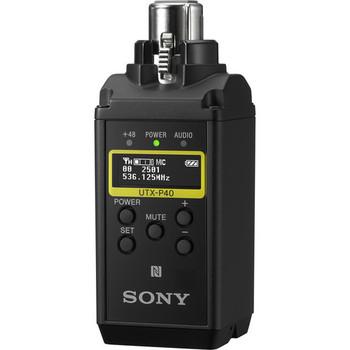 Sony UTX-P40 Wireless Plug-On Transmitter (UC25: 536 to 608 MHz)
