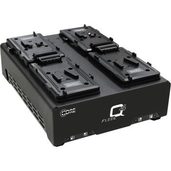 Core SWX FLEET-Q4S Fleet Q V-Mount Four-Position Charger