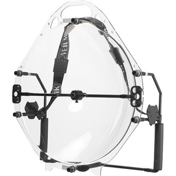 Klover MiK 26 Parabolic Collector for Select Omnidirectional & Lavalier Microphones (Tactical)