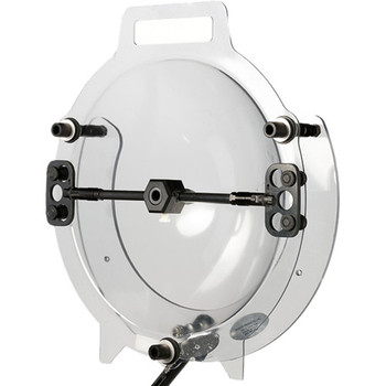 """Klover MiK 16 Hard-Mount Parabolic Collector Dish for Lavalier and Small-Diaphragm Microphones (16"""", Mounting Bracket)"""
