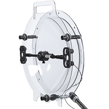 """Klover MiK 16 Sound Shield Parabolic Collector Dish for Lavalier and Small-Diaphragm Microphones (16"""", Shielded Mounting Bracket)"""