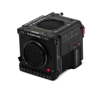RED Digital Cinema V-RAPTOR ST 8K VV DSMC3 Cinema Camera (Canon RF, Black)