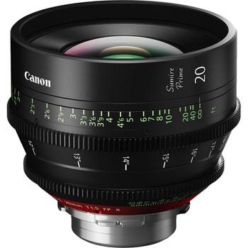 Canon 20mm Sumire Prime T1.5 (PL Mount, Feet)