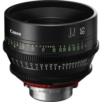 Canon 85mm Sumire Prime T1.3 (PL Mount, Feet)
