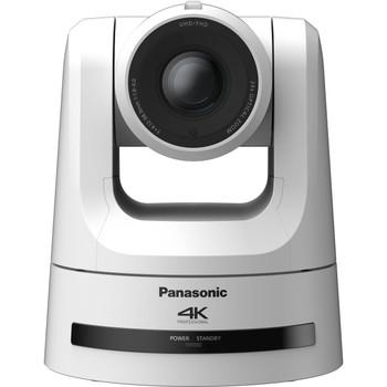 Panasonic AW-UE100WPJ 4K NDI Pro 12G-SDI/HDMI PTZ Camera with 24x Optical Zoom (White)