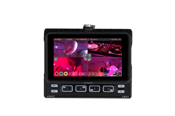 Atomos  NINJA CAST Portable Monitor/Recorder w/ AtomX Cast Docking Station for 4 x HDMI Video Switching/Streaming