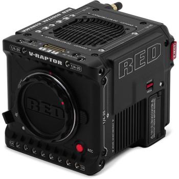 RED V-RAPTOR 8K VV + 6K S35 Dual-Format DSMC3 Camera with Starter Pack (Canon RF, Black)