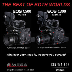More About the EOS C500 Mark II and the EOS C300 Mark III