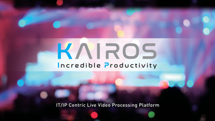 Join Omega Broadcast & Panasonic for a Demonstration of the KAIROS system