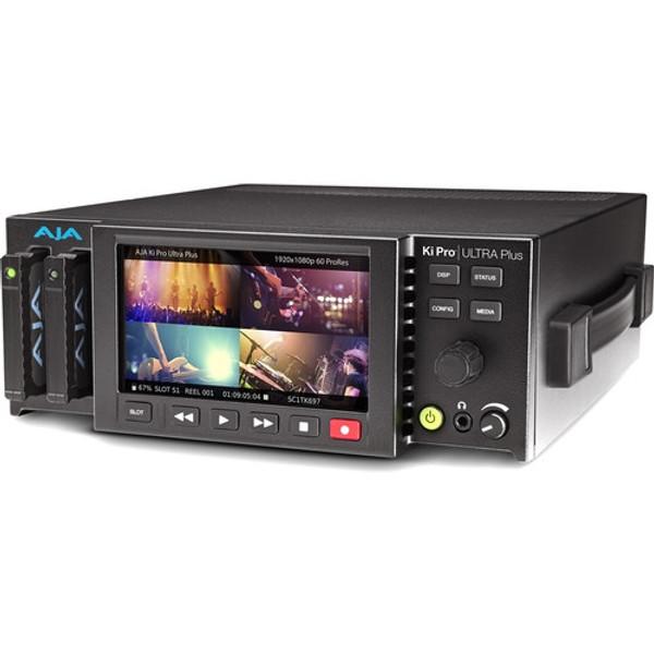 AJA Ki-Pro-Ultra-Plus Multi-Channel HD Recorder 4K/UltraHD/2K/HD Recorder and Player