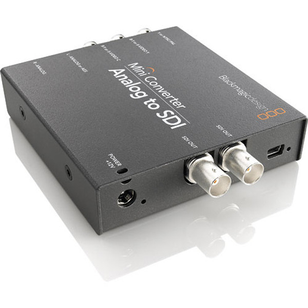 Blackmagic Design CONVMAAS2 Mini Converter Analog to SDI