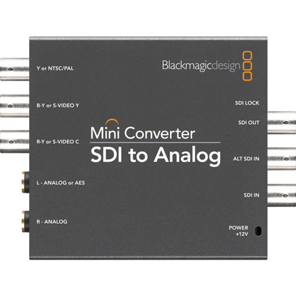 Blackmagic Design CONVMASA Mini Converter SDI to Analog