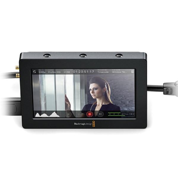 "Blackmagic Design HYPERD/AVIDAS5HD Video Assist HDMI/6G-SDI Recorder and 5"" Monitor"