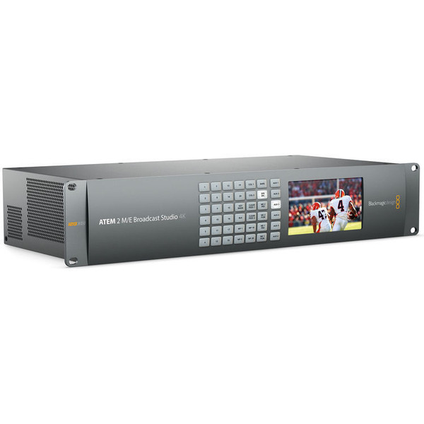 Blackmagic Design SWATEMRRW2ME4K  ATEM 2 M/E Broadcast Studio 4K Switcher