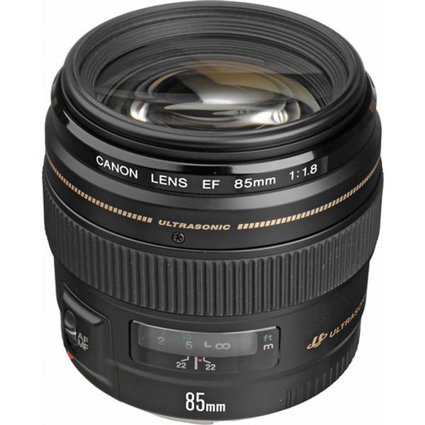 Canon 2519A003 EF 85mm f/1.8 USM Lens