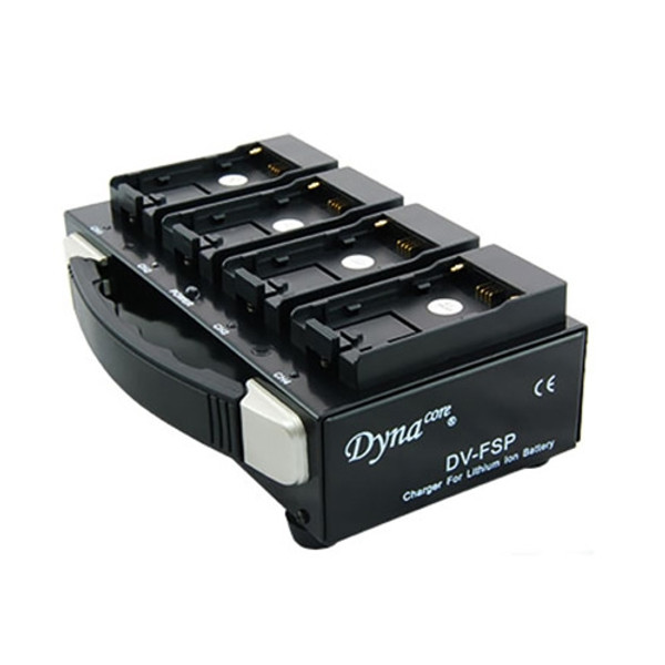 Dynacore DV-FSP Quad Charger for L-Series Sony Batteries
