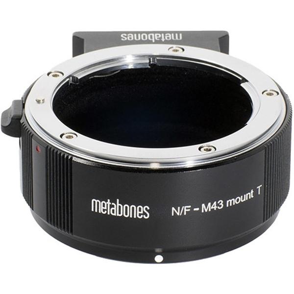 Metabones MBNFM43BT2 Nikon F Lens to Micro Four Thirds Camera T Adapter II (Black)