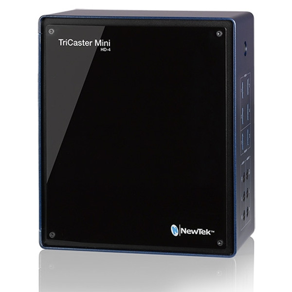 Newtek TCMiniHD4 TriCaster Mini HD-4; 4-HDMI Input Switcher, Graphics, Streaming System  (No Built-in Screen)