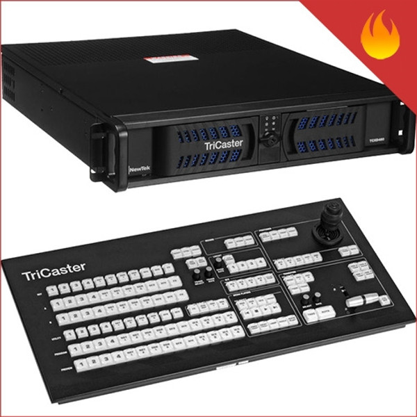 NewTek TriCaster 460 4 Input HD Switcher