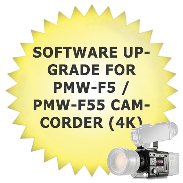 Sony CBK-Z55FX Software Upgrade for PMW-F5 / PMW-F55 Camcorder (4K)