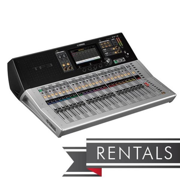 RENT Yamaha TF3 Digital Mixing Console