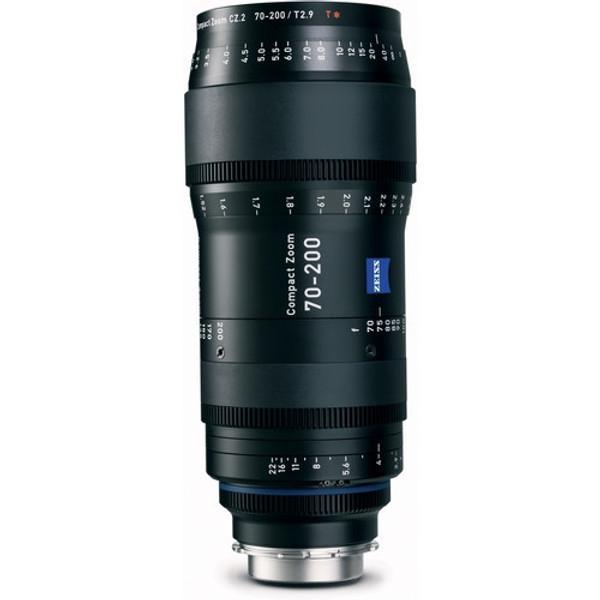 Zeiss 1984-031 70-200mm T2.9 Compact Zoom CZ.2 Lens (PL Mount)