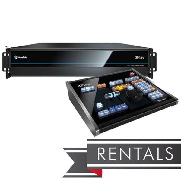 NewTek 3Play 3P1 IP Replay System with Control Surface