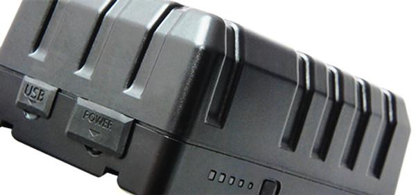 Dynacore D-155MS RUGGED Mini Battery – V-Mount, (14.4V, 155Wh)