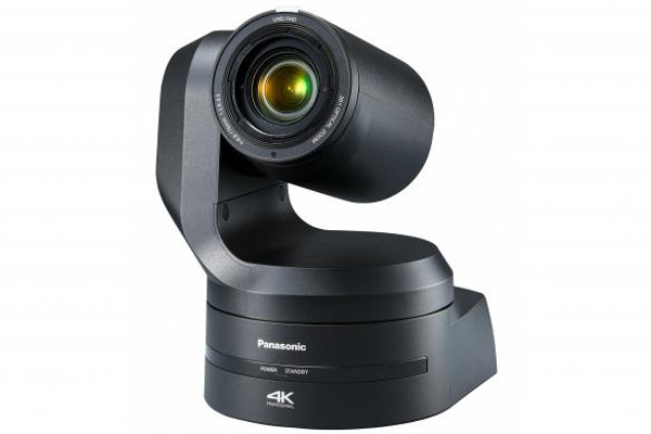 """Panasonic AW-UE150K 4K/UHD Integrated 60p PTZ Camera, 1"""" MOS, 20x lens (34x in HD) 12G-SDI & HDMI outputs (Black) Also available in White!"""