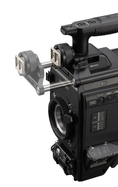 Sony HDC-3500L: Three 2/3-inch 4K CMOS sensors portable system camera for fiber operation