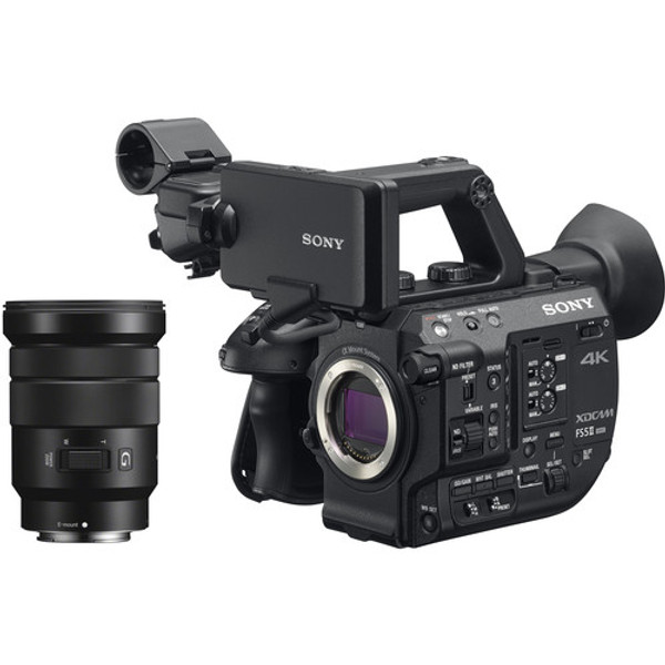 B-STOCK Sony PXW-FS5M2K 4K XDCAM Super 35mm Compact Camcorder with 18 to 105mm Zoom Lens