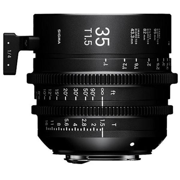 Sigma WZV966 T1.5 FF High-Speed 5 Prime Lens Kit with Case (Canon EF Mount)