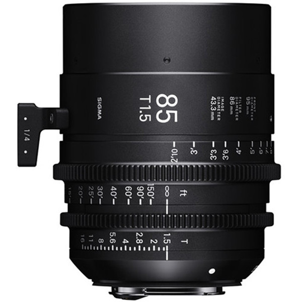Sigma WZV967 T1.5 FF High-Speed 5-Lens Kit with Case (Sony E Mount)