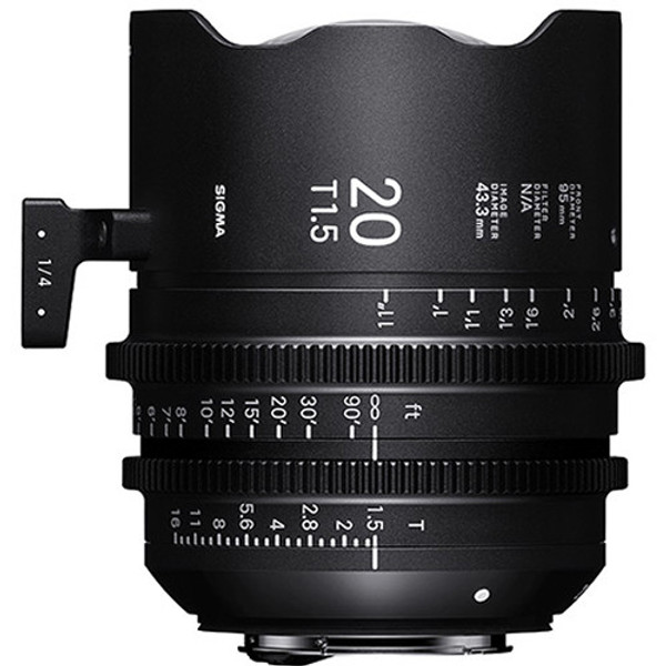 Sigma WZV968 T1.5 FF High-Speed 5-Lens Kit with Case (PL Mount)