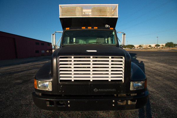 2001 International 4700  Production Truck (exterior has been converted to white)